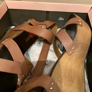 Juicy Couture Wedge Sandals- NWT